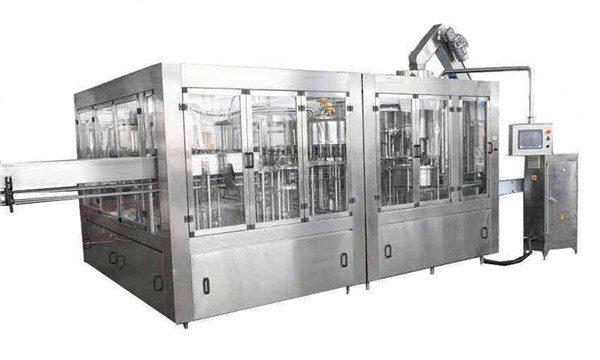 Řada strojů pro automatické plnění kokosového oleje 8000BPH