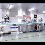 Automatické plnění a uzavírání stroje