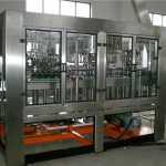 Automatické skleněné láhve plnící stroj
