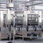 Automatické 250ml šamponové skleněné láhve plnící stroj na capper zařízení
