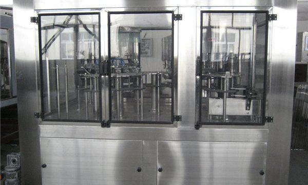 Pneumatický plnící stroj Malý plnící stroj, poloautomatický plnící stroj Cena