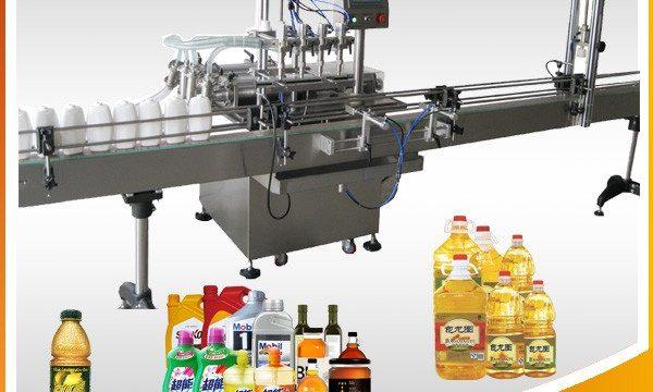 Plnicí stroj mazacích olejů 1L-4L