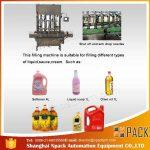 Automatický 2, 4, 6, 8, 10, 12 hlavový stroj na plnění oleje na vaření