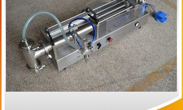 Poloautomatický pístový plnící stroj Ideální olejový plnící stroj
