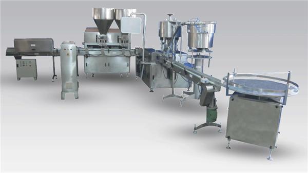 Plnicí stroj na automatické plnění smetany