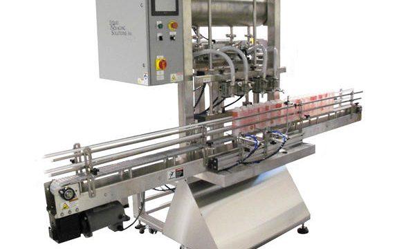 Plnicí stroj s automatickým plněním lahví