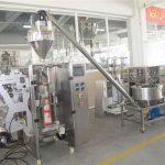 Plnící stroj s automatickým plněním práškového sáčku