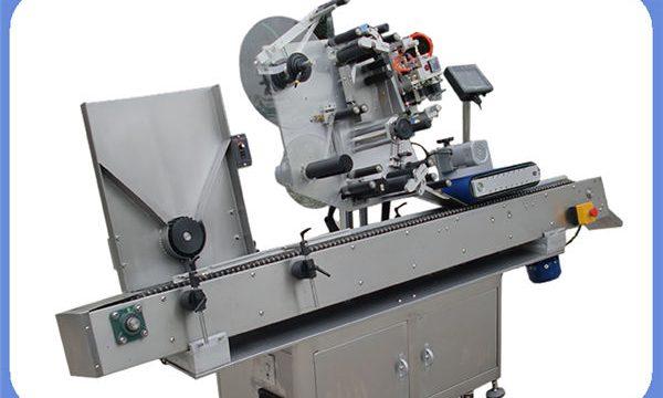 Automatická etiketovací láhev nálepka stroj pro kulaté a hranaté