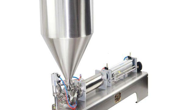 50-500ml pasta a stroj na plnění tekutin pro krémovou šamponovou kosmetickou zubní pastu