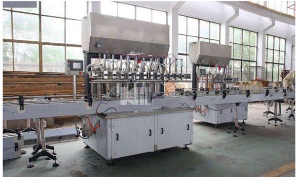 Společnosti Výrobní stroj Vysoce kvalitní stroj na plnění šamponů