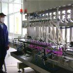 Automatické rotační plnění lahví kapalina s uzávěrem
