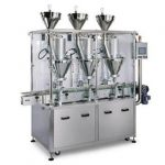 Slevový automat na plnění práškového sirupu