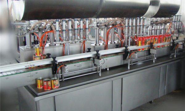 Plně automatický stroj na plnění chili pasty s dvojitou hlavou
