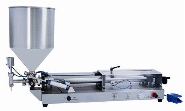 Poloautomatický stroj na plnění pasty pro 3 ml-5L