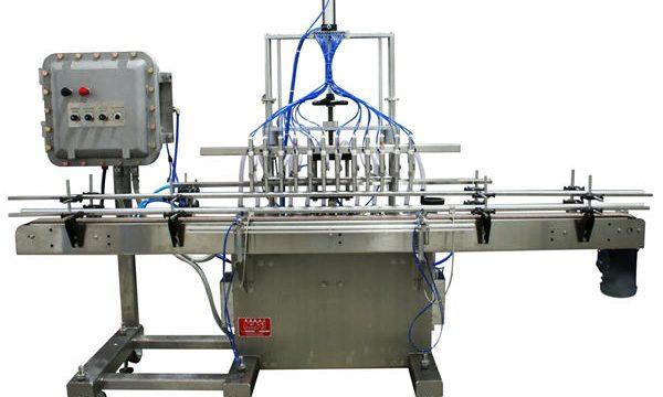Automatický plnící stroj pístových kapalin 50ml-1L